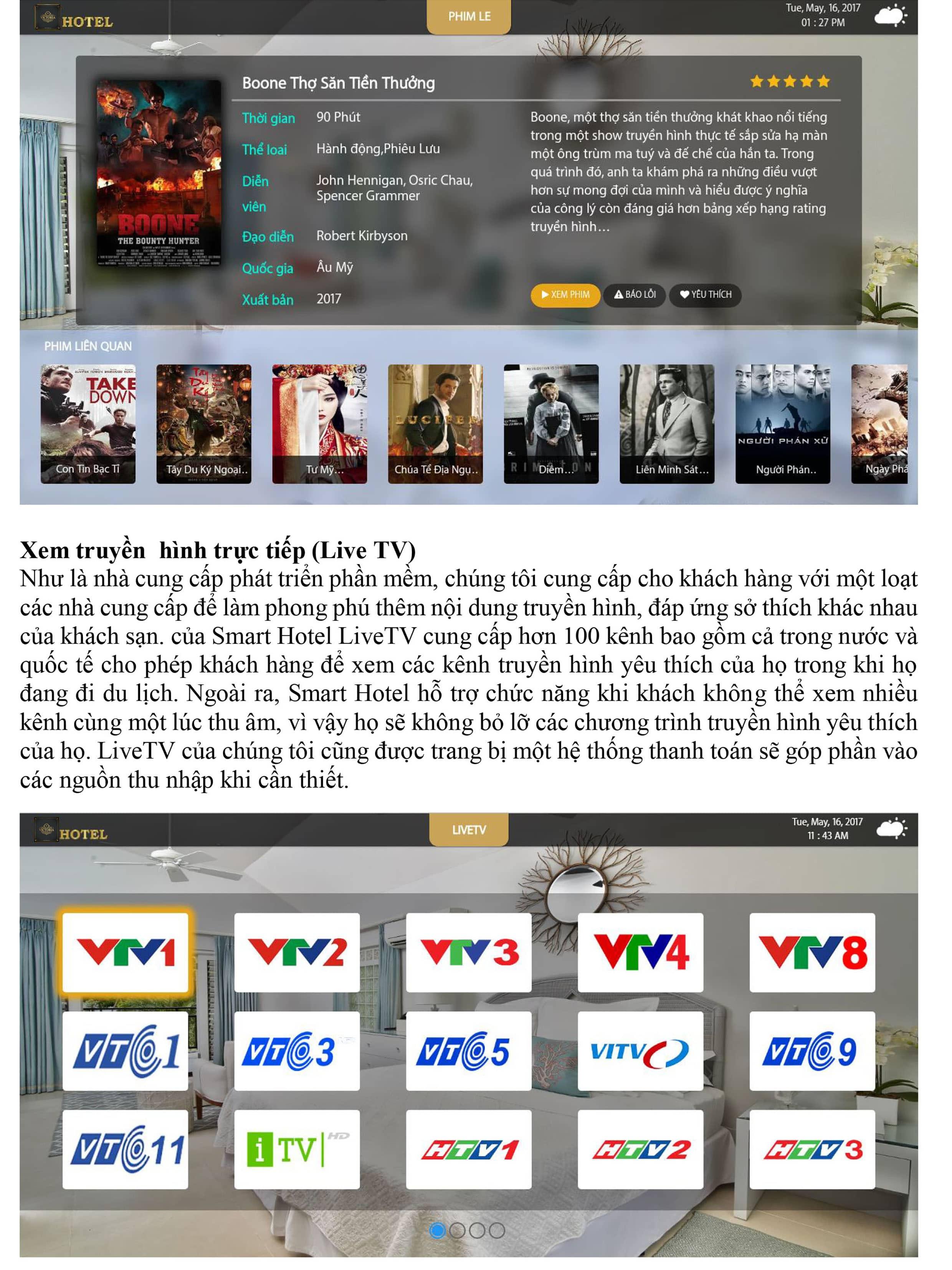 Xem truyền hình trực tiếp hoặc local nhờ IPTV